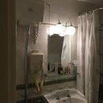 Badezimmer im Hotelzimmer