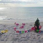 Christmas Day at Lido Beach