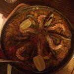 Fisch - Paella