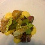 Iberico varken (filet + wangetje) met pickles