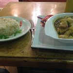 Example of the food in the restaurant - Big portions, tasty and at a good price.