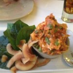 Betel leaves with Lobster