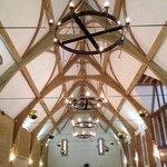 The tithe barn - a new build themed hall for weddings etc.