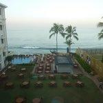 Overlooking the Indian Ocean