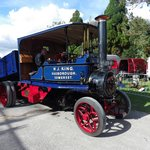 tasker steam waggon at a event day