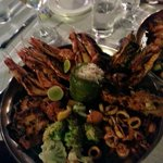 The famous Malabar house seafood platter!