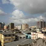 View from our room of the city of Dar