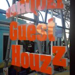 Marquee Guest House signage