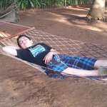 Hammocks in the opens pace