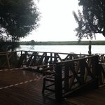Vista do Rio Chobe da Recepção.