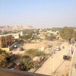 Vue du restaurant hôtel Fifu, Jaisalmer