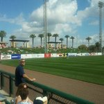 View from third base