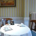 La salle du petit-déjeuner