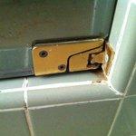 Porte de la douche