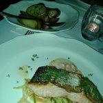 Fillet of salmon with crayfish sauce