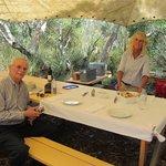 open-air picnic