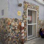 Gaudi style corner