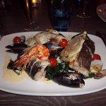 sea food mixed grill