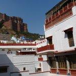 Vue sur le Fort de Mehrangarh