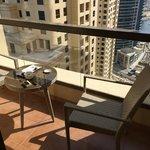 Marina view balcony