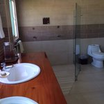 Bathroom with double shower!