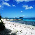 la plage magnifique