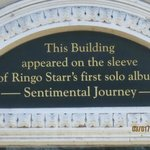 On the building on Ringo's first solo album. I found his story most interesting.