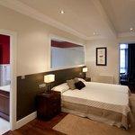 Habitación doble superior con bañera redonda