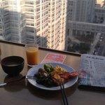早餐加風景