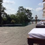 amazing days by the infinity pool with amazing service and beautiful balinese afternoon tea