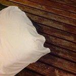 legno del balcone fatiscente
