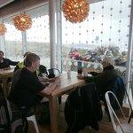 Inside Cafe Widemouth