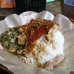 Roast pig served cold...