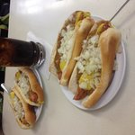 My first Lafayette coney experience!