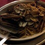 spaghetti vongole cannolicchi