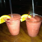 strawberry daiquiris from pool tikki bar