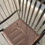 Holes in Patio Furniture