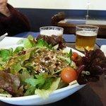 Nut raisin salad