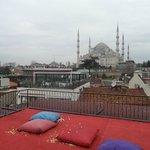 Mosquée bleue de la terrasse