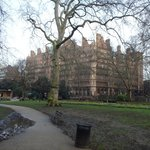 A Winter's morning in Russel Square