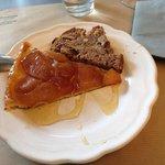Tarte tatin et cake pomme-poire-noix-cannelle