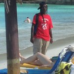 Michael, the beach entertainment!!