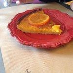 La divine tarte à l'orange