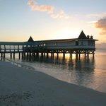 Warri Pier at sunset