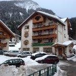 Vista hotel lato valle