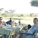 Bush breakfast at naboisho camp