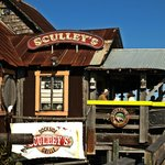 Sculley's entrance and deck