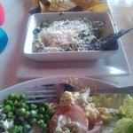 Dip de espinacas con alcachofa