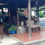 Antique-filled Cabana
