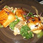 Salmon, cod and redfish